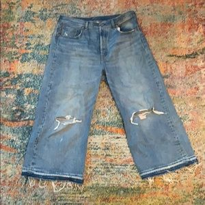 Levi's High Water Wide Legs